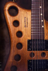Zachary Z-1 Body with Tone Hole Option